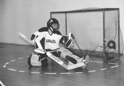 Historal floor hockey photo