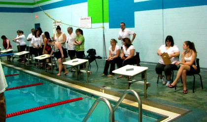 Special Olympics Swimming Volunteer Officials