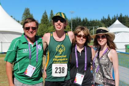 Faye Family at Summer Games