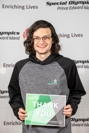 Team PEI 2020, Thank You, Keegan Waite
