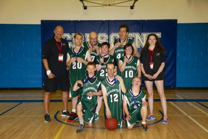 Edmonton 2 Basketball