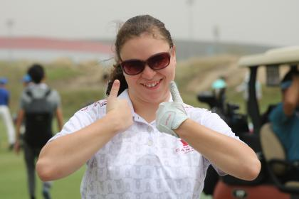 Special Olympics Team Canada's youngest athlete is heading home from the 2019 World Games with a silver medal in hand . Emma Bittorf already has her sights set on the next Special Olympics World Games in 2023.
