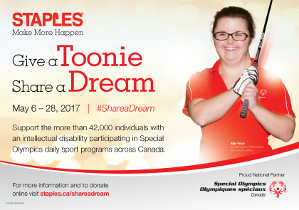 Give a Toonie Share a Dream