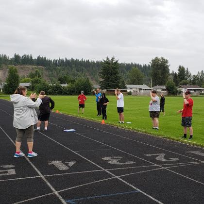 Week one of SOBC – Quesnel's track Pilot Program.