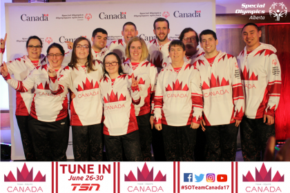 Team Canada at the 2017 Special Olympics World Winter Games
