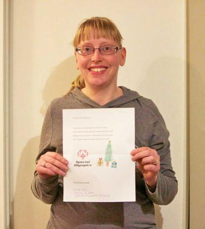 Becky Riddel creates 2017 Special Olympics Alberta holiday card