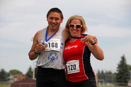Team Alberta athletics athletes