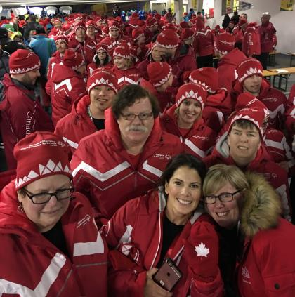Team CAnada 2017 at the Austria World Winter Games