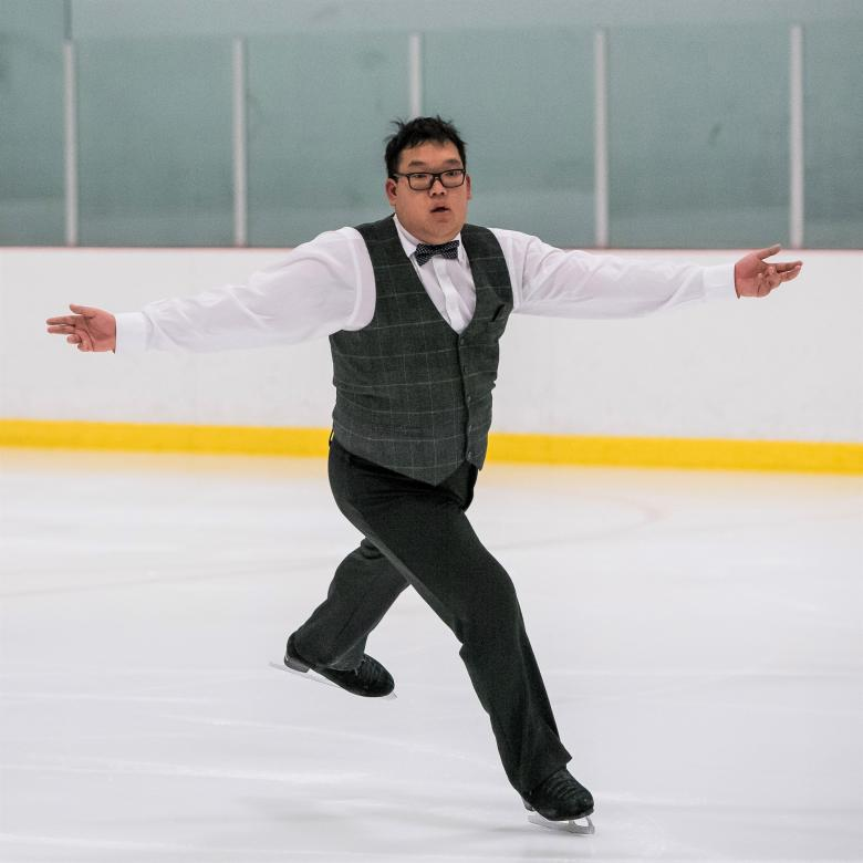 Special Olympics BC figure skater