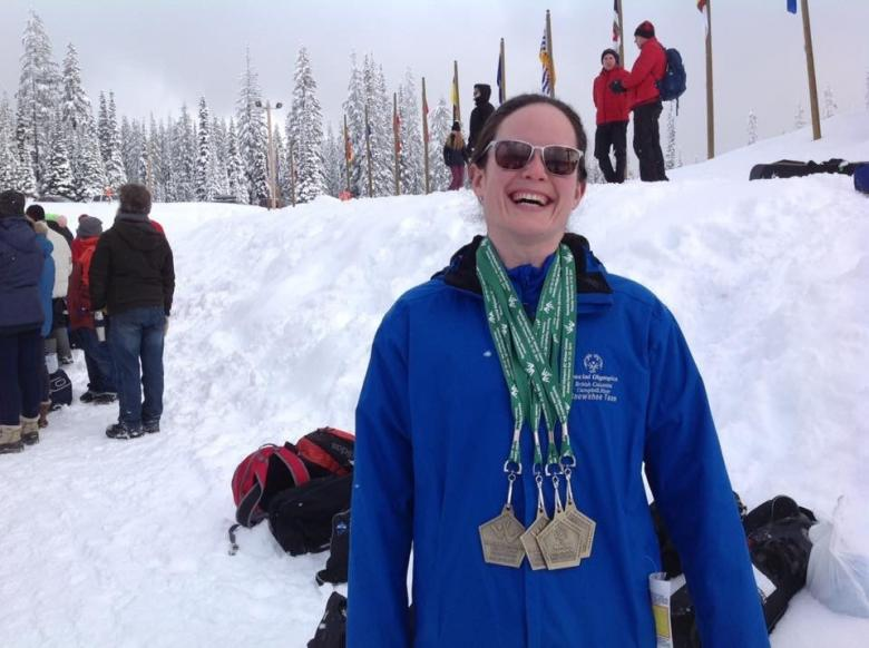 Ashley Aide - long time Special Olympian and Thrifty Foods Employee