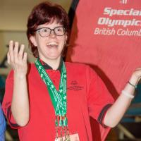 2019 Special Olympics BC Games 5-pin bowling medallist