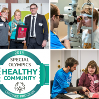 Healthy Communities, Special Olympics, Healthy Athletes