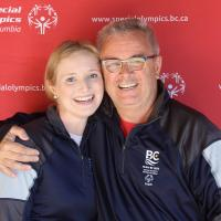 Special Olympics Team BC 2020 father-daughter coaching duo