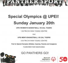 Special Olympics at UPEI