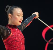 SO Team Canada rhythmic gymnast Kimana Mar competes at World Games.