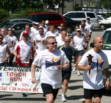 2008 Lower Mainland Torch Run
