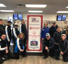 Special Olympics teams in Peace Curling Tour
