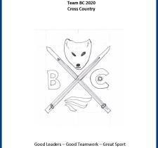 Team BC 2020 Cross Country Skiing Coat of Arms