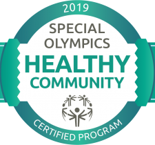2019 Special Olympics Healthy Community Certified Program Seal awarded to Special Olympics Prince Edward Island