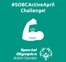 Special Olympics BC Active April Challenge icon