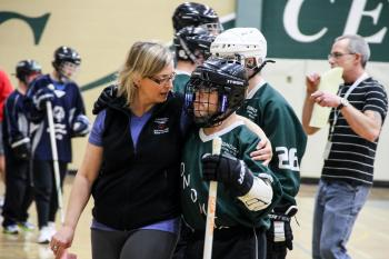 Alberta Floor Hockey Coach