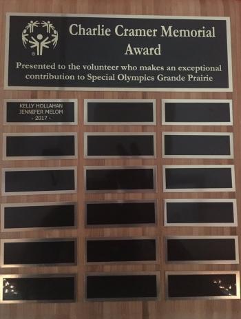 Charlie Cramer Award 2017