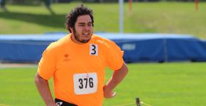 Team Alberta track athlete, Eli Bernard