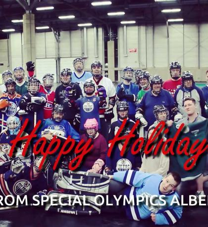 2017 Special Olympics Alberta Holiday Greeting