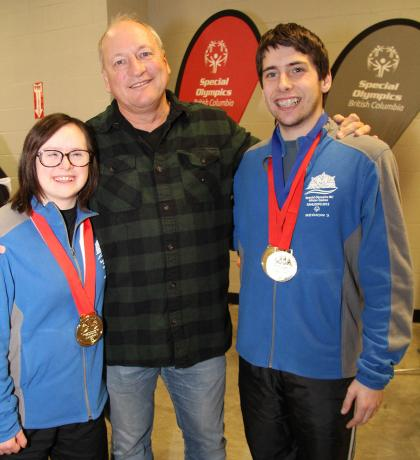 Jacques Thibault, Special Olympics BC Sport Consultant