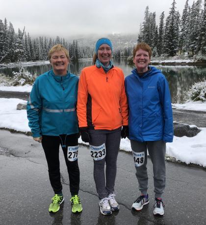 Melissa Road Race with Jenny Murray