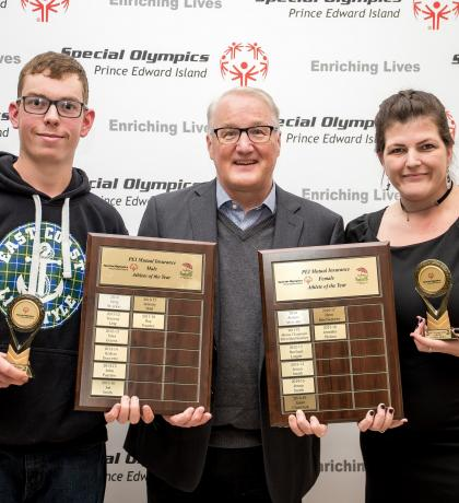 PEI Mutual Male and Female Athletes of the Year