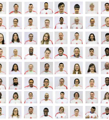 A collage of Team Canada headshots.