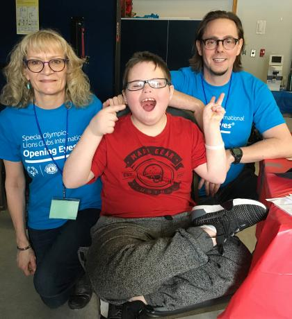Healthy Athletes 2019 Special Olympics BC Games