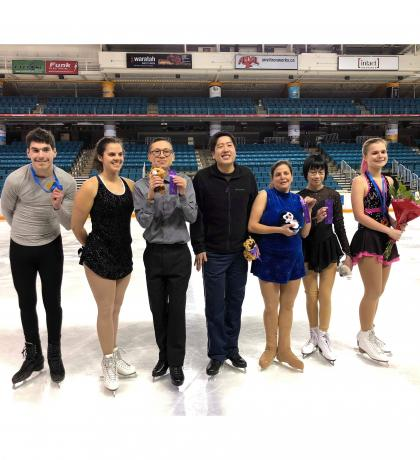 Figure Skating At The 2020 Olympic Winter Games.Sobc Athletes And Coaches Announced For Fort St John 2020