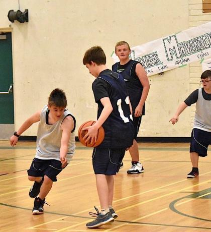 Special Olympics BC Vancouver Island 3-on-3 Basketball Tournament