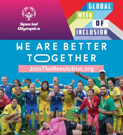 Special Olympics Inclusion Revolution