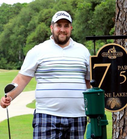 Joshua Engel at Pine Lakes - Jekyll Island Golf Club