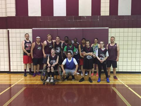 F.W. Johnson Collegiate Unified Basketball Team