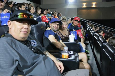 Special Olympics Ontario athletes pack a Cineplex theatre to see The Peanut Butter Falcon