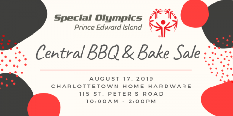 BBQ, Bake Sale, Fundraiser, Special Olympics PEI