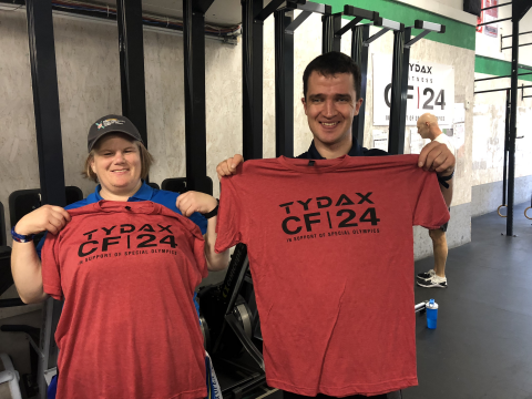 SOBC athletes at CF|24 in Vancouver