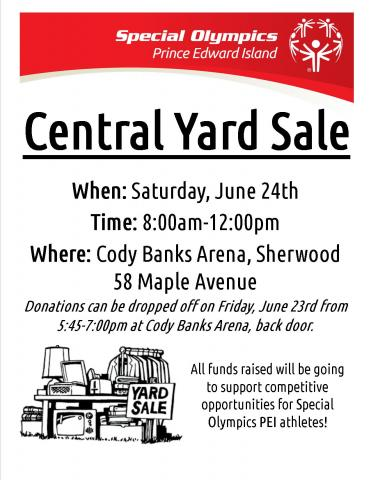 Central Region, Yard Sale, Poster
