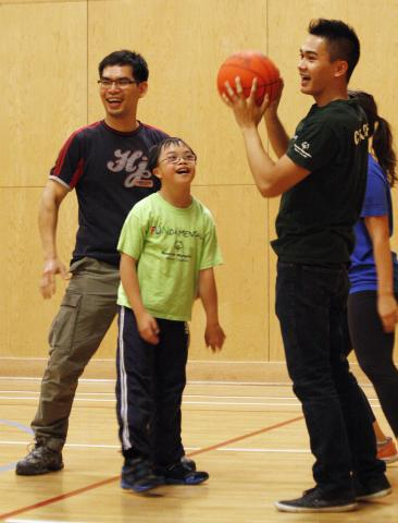 Smiles all around at the SOBC – Burnaby FUNdamentals program.