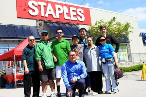 Special Olympics BC photo - Staples Give a Toonie Share a Dream 2018
