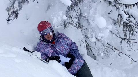 SOBC – Revelstoke athlete Terina Sessa gets bold and cold