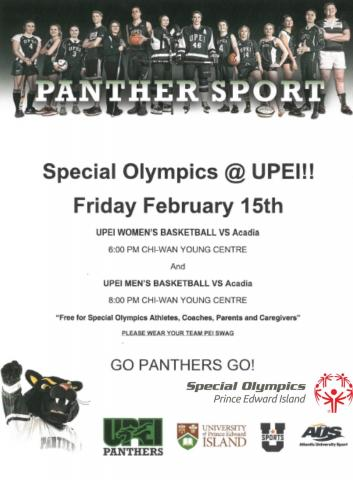 Special Olympics Day, UPEI, Basketball