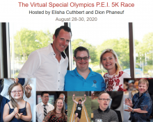 Virtual 5k in support of Special Olympics PEI