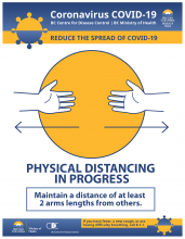 BC Centre for Disease Control information on physical distancing