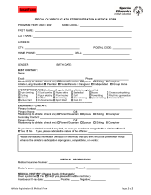Special Olympics BC registration form icon